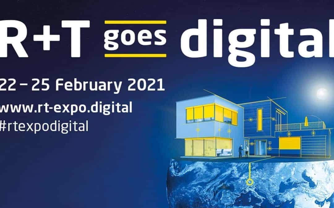 Medit Srl è lieta di invitarti al suo stand virtuale presso la fiera R+T Digital di Stoccarda.